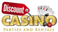 Discount Casino Parties Logo